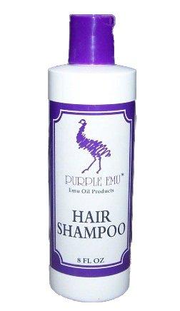 Purple Emu Hair Shampoo With Emu Oil 8 Oz Bottle