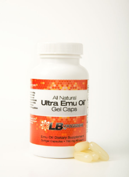 All-Natural Ultra Emu Oil Dietary Supplement Soft Gel Caps 90-750mg