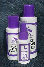 Purple Emu AEA Certified Fully Refined Pure Emu Oil 8 oz. Bottle